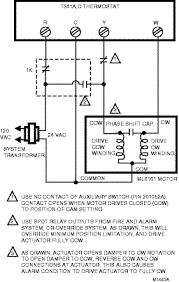 ml7161a2008 u Honeywell Actuator Wiring Diagram