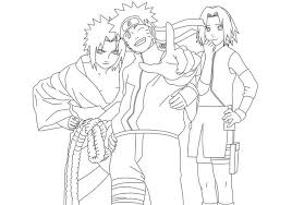 Small Picture Naruto coloring pages sasuke sakura ColoringStar