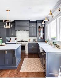 36 Best Beautiful Blue and White Kitchens to Love! | Kitchen Decor ...