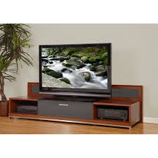 modern wood tv stand. view a larger image of the plateau valencia series backlit modern wood tv stand for 51 tv o