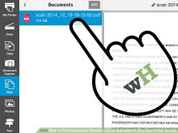 How Do I Print From My Ipad How To Print Documents Wirelessly On An Ipad With Hp All In One