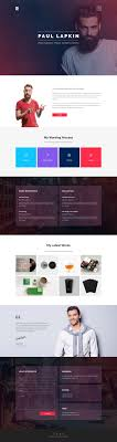 Personal Resume Website Templates Free Download Best Of Zet One