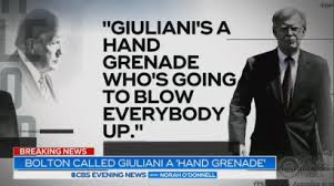 Image result for rudy giuliani grenade