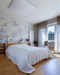 bed with walls. Wonderful Walls Natural Bedroom With White Brick Walls In Bed With O