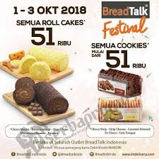 Promo Breadtalk Festival Harga Spesial Mulai Rp 7500 Periode 1 3