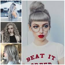 Coolest Grey Hairstyles For 2016 2017 Haircuts Hairstyles And Gray Hair Styles 2017