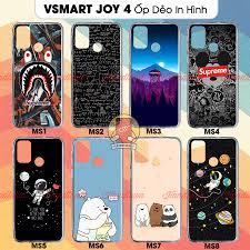 Ốp lưng Vsmart Joy 4 dẻo trong in hình phần A - Điện Thoại - Máy Tính Bảng  Thương hiệu No Brand