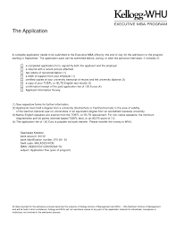 Remarkable Resume For Executive Mba Program For Your Cover Letter