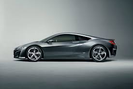 acura nsx 2015. driver side view acura nsx 2015