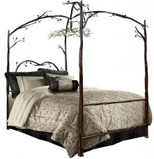 Distinctive Image Wrought Iron Bed Frames King Metal Frame Full Size ...