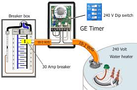 wiring diagram for 220 hot water heater wiring diagram how to wire ge 15132 timer