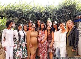 Kim Kardashian Shows Off Baby Bump At Friendu0027s Baby ShowerBaby Shower Friends