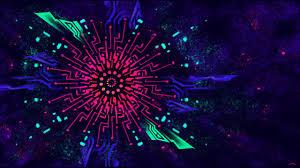 Cool Black Light Designs Black Light Color Background 2279955 Hd Wallpaper