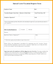 Vacation Request Forms For Employees Employee Leave Application Form Vacation Request Form 2 Employee