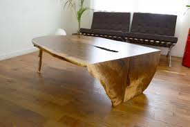 wood slab stunning slab coffee table with waterfalled castslab coffee table blankblank