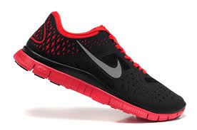 nike running shoes red and black. free shipping nike 4.0 v2 men running shoes black red and a
