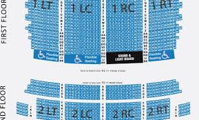 Fillmore Seating Chart Miami 10 Organized Best Seats At San Diego Civic Theatre