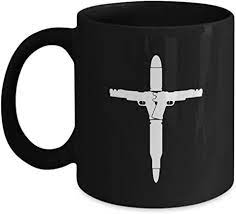 And 15 oz.) and are dishwasher and microwave safe! Amazon Com Christian Gun Owner Mug Guns Bullets Cross Religious Firearms Themed Coffee Cup Kitchen Dining