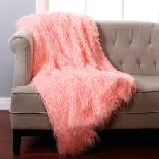 Light Pink Fur Throw Blanket Scenic Pink Fur Throw Blanket Bedrooms Remarkable Mohair