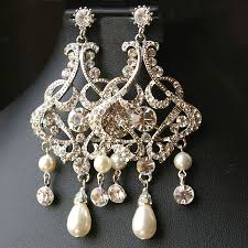 full size of inspiring chandelier bridal earrings vintage style statement crystal parts necklace archived on lighting