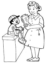 nursing coloring pages. Helpful Nurse Coloring Pages For Nursing