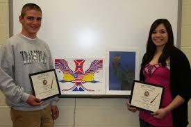 Students receive awards for patriotic artwork - mlive.com