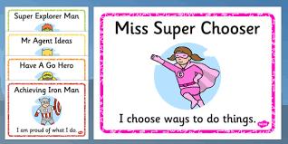 Characteristics Of A Superhero Superhero Themed Characteristics Effective Learn Display Posters