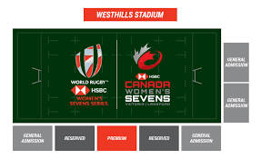 Westhills Stadium Seating Chart Tickets Canada Womens Sevens