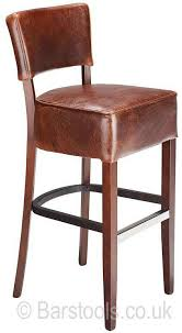 leather bar stools uk luxury genova bar stool brown