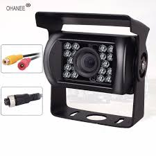 OHANEE Truck Backup Camera 18 Led IR Night Vision Waterproof Vehicle ...