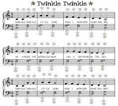Twinkle Twinkle Little Star Recorder Finger Chart How To Play Twinkle Twinkle Little Star On Various