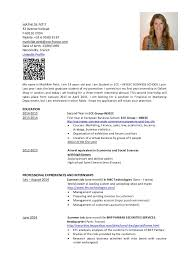 Cv mathilde petit resume for French cv sample . Cover letter in french  experience resumes ...