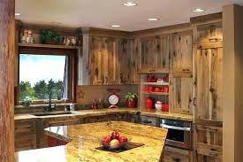 Hickory Kitchen Cabinets Rustic  Solid Wood Furniture Ideas36