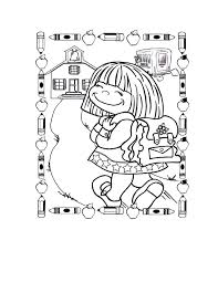 free back to school coloring pages preschool pageor second grade at for first