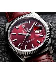 latest men watches online store men watches price in rolex perpetual day date limited edition red color 2016 watch for men in online