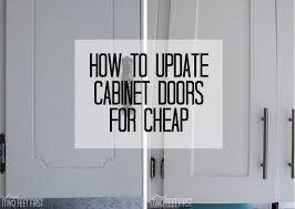 Update Cabinet Doors To Shaker Style For Cheap Photo