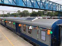 had announced that railways would generate 1 000 mw of solar energy in the next five years solar powered demu trains are part of this plan indian