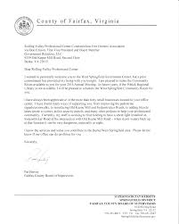 board of supervisors rolling valley professional center rvpc letter addressed to don ellison first vice president board member