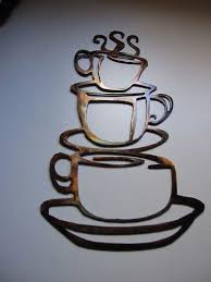 coffee cups kitchen home decor metal wall by heavensgatemetalwork love this for a kitchen decor  on coffee kitchen metal wall art with coffee cups kitchen home decor metal wall by heavensgatemetalwork