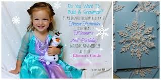 Diy Frozen Invites Rome Fontanacountryinn Com