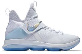 lebron shoes 2017 white. name:nike lebron xiv color:white/multi-color-ice blue style:860631-900. release date:03/24/2017. price:$175. exclusive:gr [detailed photos] lebron shoes 2017 white a