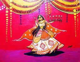 mehfil indian folk art 7 by ashishkrart on deviantart