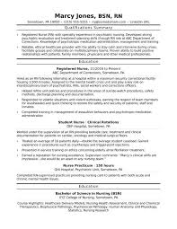 Psych Nurse Resume Impressive Resume Registered Nurse Resume Sample New Grad Nursing Graduate