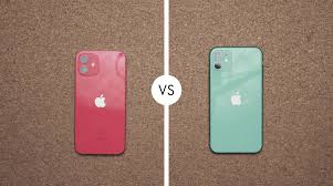 Compare Whats New: iPhone 12 vs iPhone 11