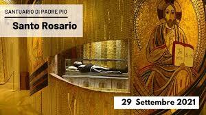 🔴 Santo Rosario - 29 settembre 2021 (fr. Carlo M. Laborde) - YouTube