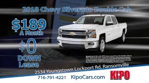kipo chevrolet niagara county s chevrolet dealer silverado 4 2018