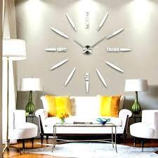 huge wall clocks best interior big wall ideas interior designing home ideas oversized wall clocks you huge wall clocks