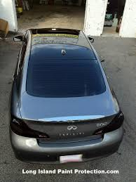 3m infiniti long island new york paint protection roof the tint