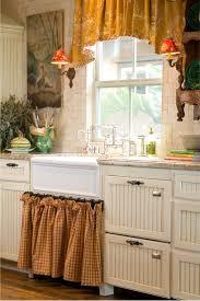 Kitchen Dining Create Accent In Kitchen Using Valance Window