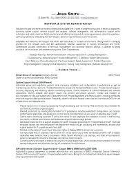 Sample It Administrator Cover Letter Delightful Network ...